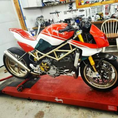 2008 Ducati Monster Red for sale