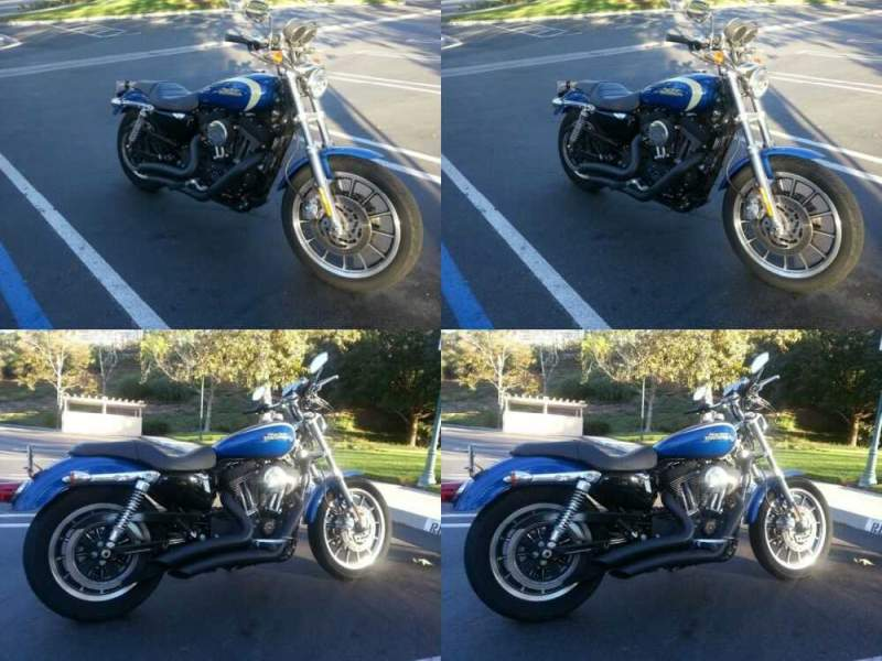 2008 Harley-Davidson 2008 Harley Davidson XL 1200R Blue for sale craigslist