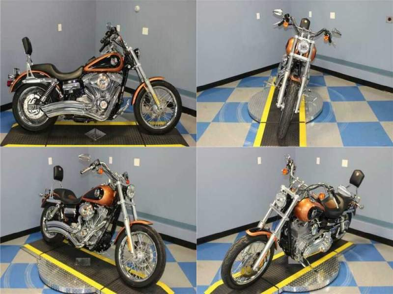 2008 Harley-Davidson Dyna Super Glide Custom Anniversary Copper Pearl/ for sale