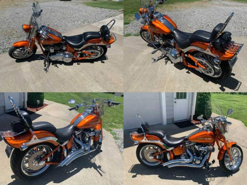 2008 Harley-Davidson Softail Orange for sale craigslist