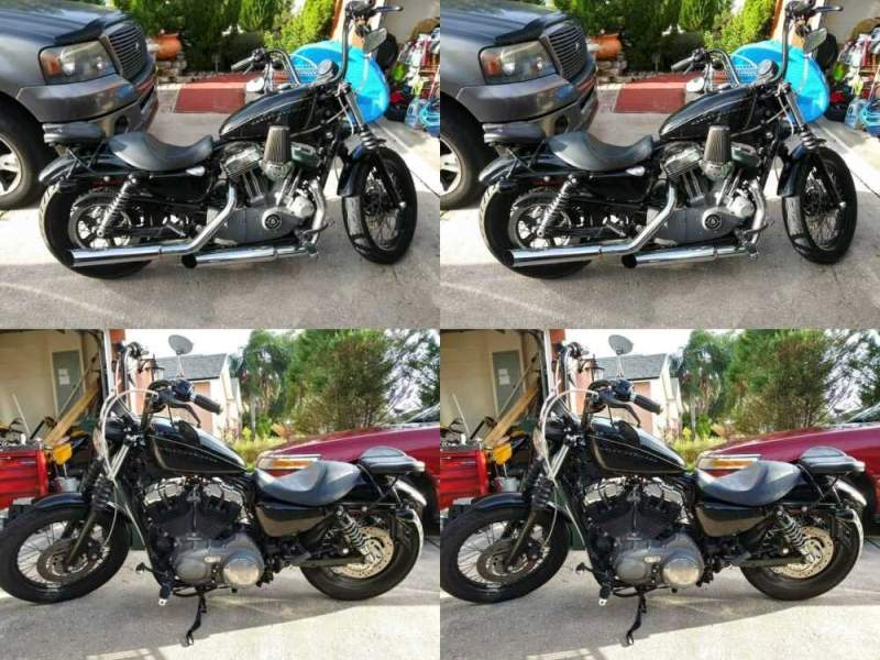 2008 Harley-Davidson Sportster Black for sale craigslist photo