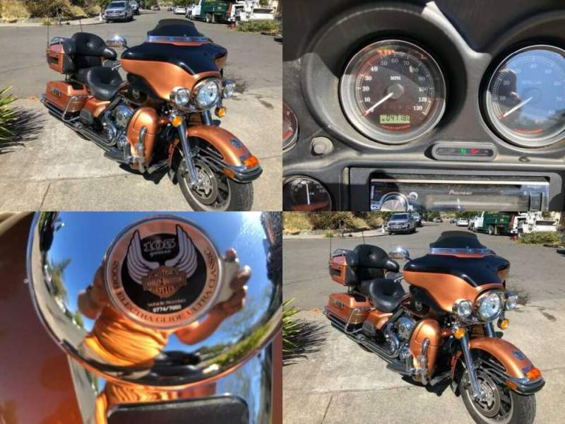 2008 Harley-Davidson Touring Electra Glide® Ultra Classic® Copper for sale craigslist photo