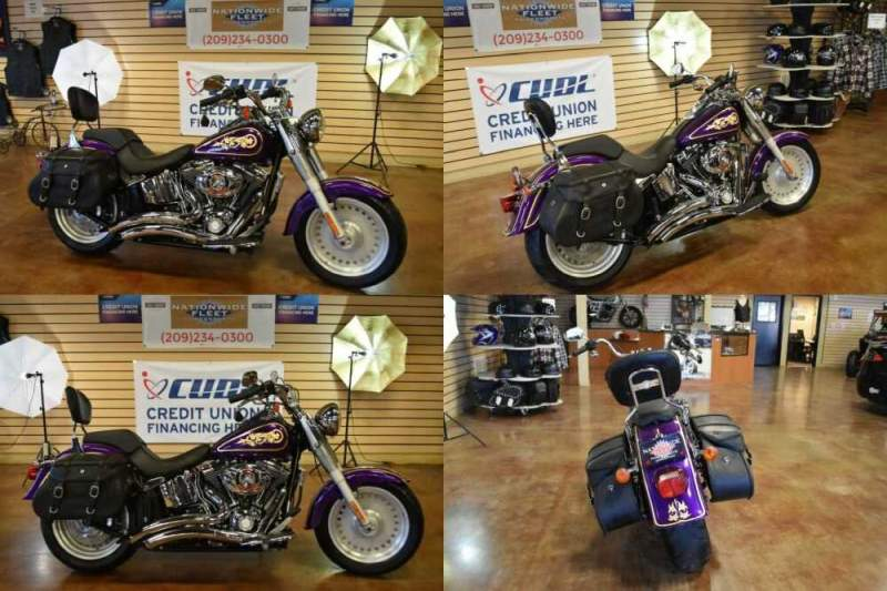 2008 Harley-Davidson Touring Purple for sale craigslist photo
