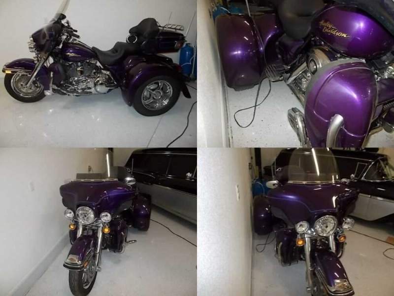 2008 Harley-Davidson Touring Purple for sale