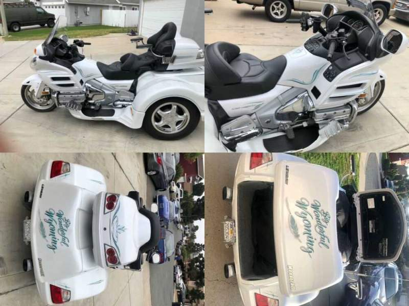 2008 Honda Gold Wing White for sale craigslist photo
