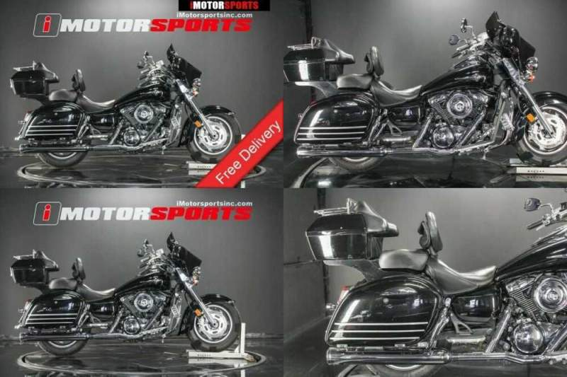 2008 Kawasaki Vulcan 1600 Nomad Black for sale