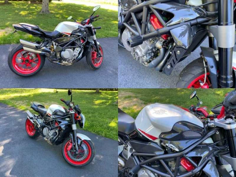 2008 MV Agusta 910r Red for sale craigslist photo
