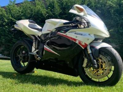 2008 MV Agusta F 312R 1000 Pearl White/Black for sale craigslist photo