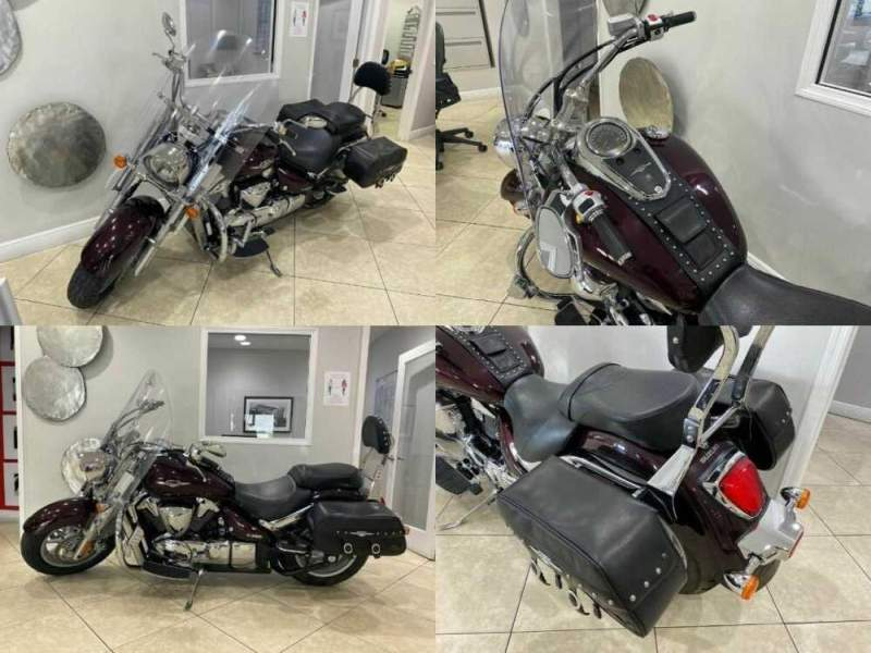 2008 Suzuki Boulevard - Recently Serviced - Well Maintained Maroon for sale