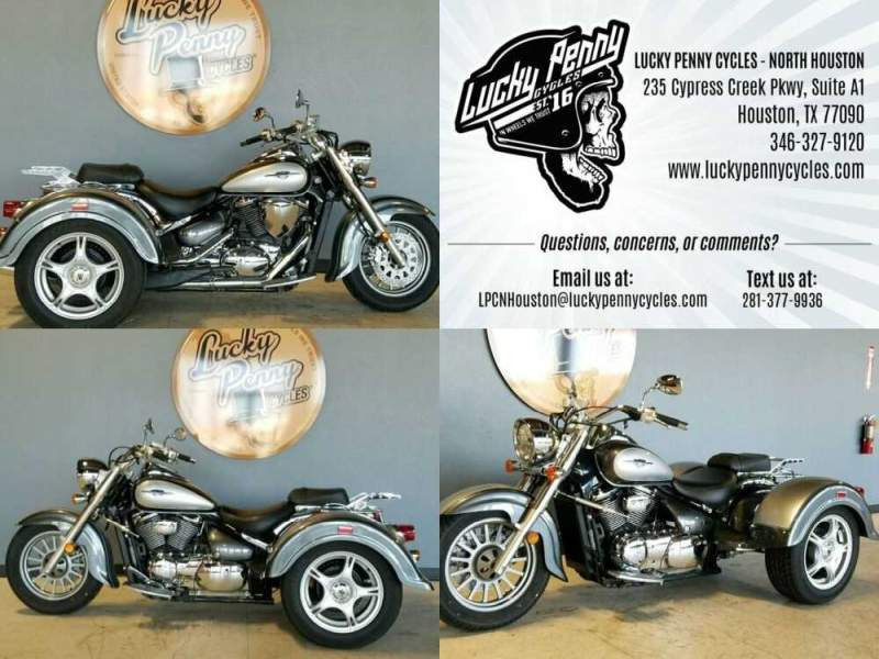 2008 Suzuki Boulevard Silver for sale craigslist photo