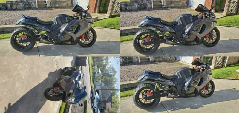 2008 Suzuki Hayabusa Black for sale