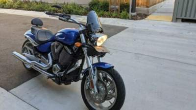 2008 Victory Hammer Blue for sale craigslist photo
