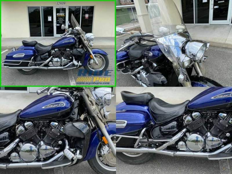 2008 Yamaha Royal Star Tour Deluxe Blue/Black for sale craigslist photo