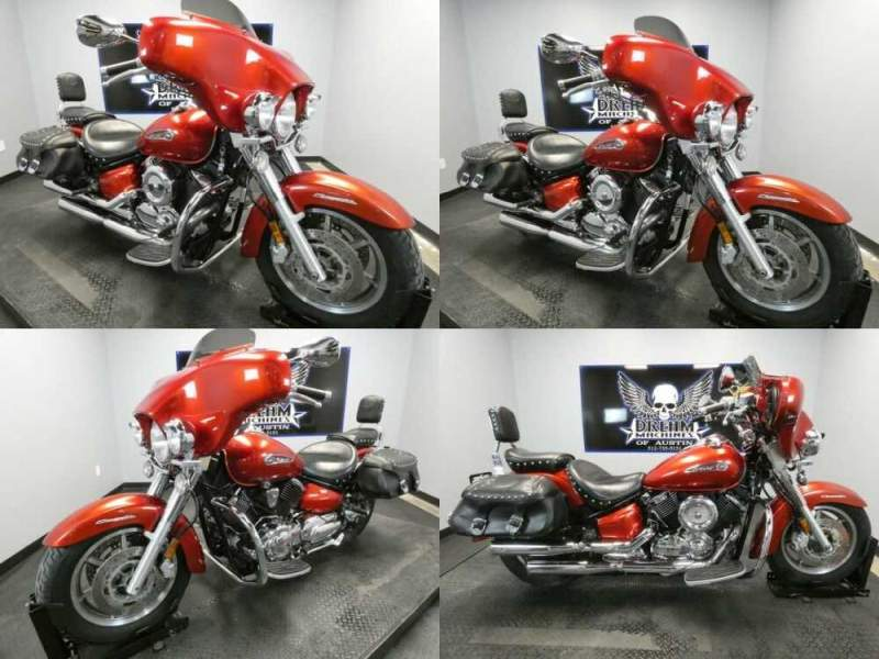 2008 Yamaha V Star 1100 Silverado Red for sale craigslist