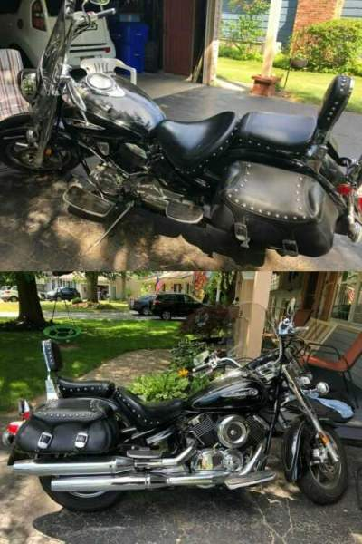 2008 Yamaha XVS110ATXB Black for sale craigslist photo