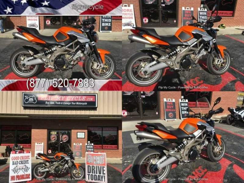 2009 Aprilia Shiver 750 Orange for sale