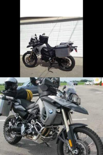 2009 BMW F800gs Gray for sale craigslist photo