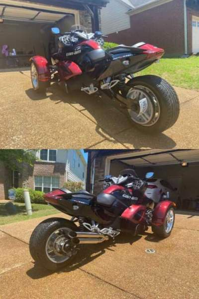 2009 Can-Am GS SM5 Burgundy for sale craigslist photo