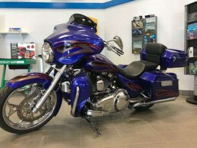 2009 Harley-Davidson FBI Blue for sale craigslist photo