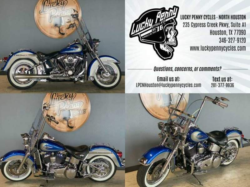 2009 Harley-Davidson Softail Heritage Classic Blue for sale