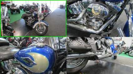 2009 Harley-Davidson Softail HERITAGE CLASSIC BLUE SILVER for sale craigslist