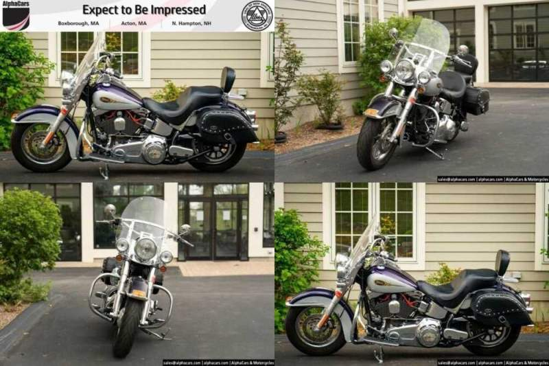 2009 Harley-Davidson Softail Softail Deluxe Purple for sale