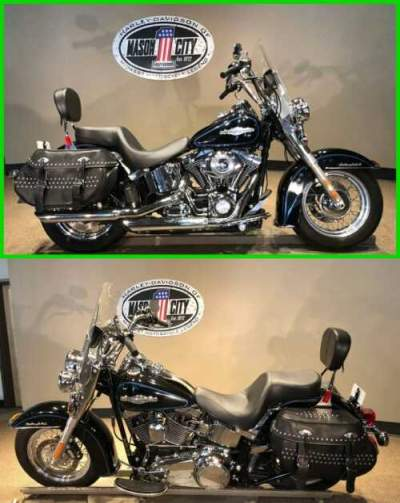 2009 Harley-Davidson Softail Heritage Softail® Classic Vivid Black for sale