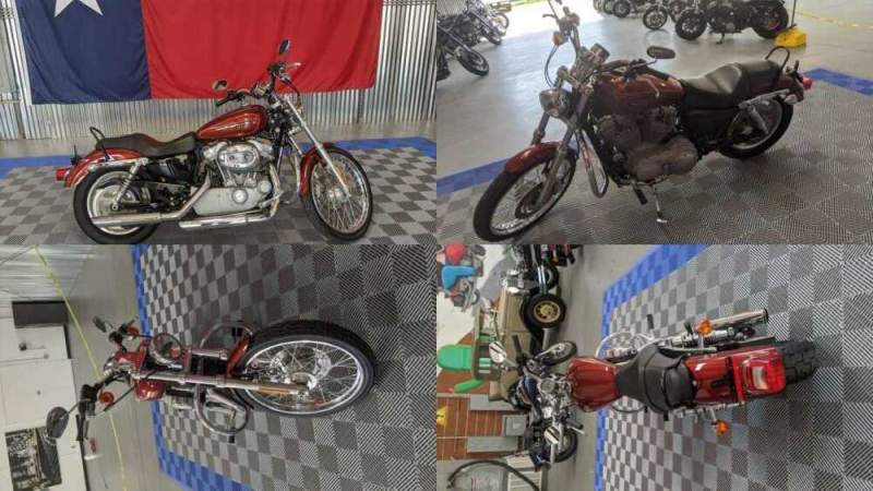2009 Harley-Davidson Sportster 883 Custom Burgandy for sale craigslist