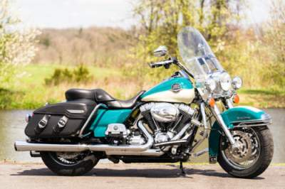 2009 Harley-Davidson Touring Two-Tone Deep Turquoise/Antique White for sale craigslist