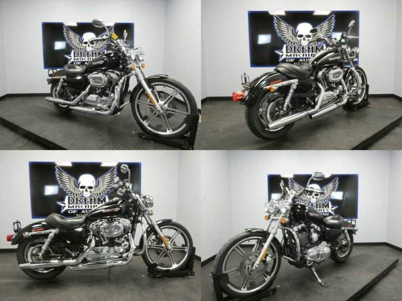 2009 Harley-Davidson XL1200C - Sportster 1200 Custom Black for sale craigslist