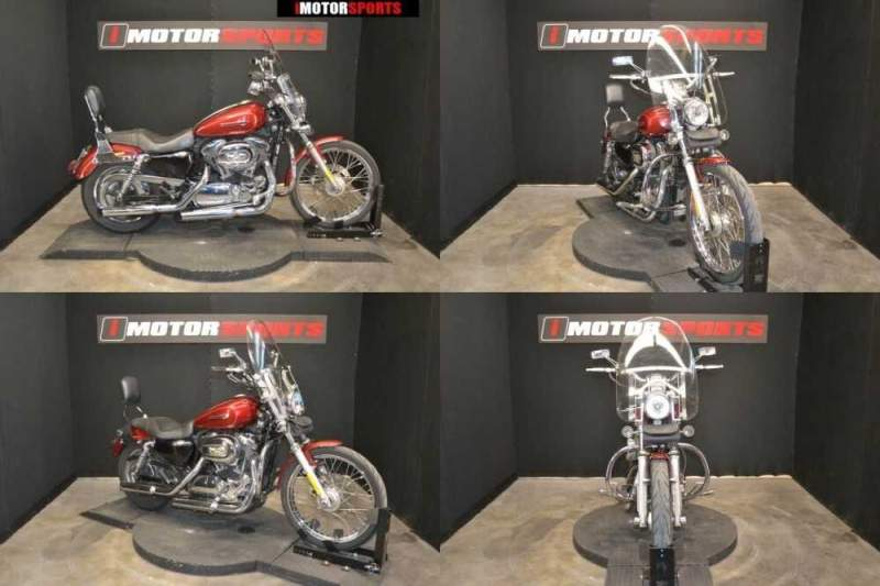 2009 Harley-Davidson XL1200C - Sportster 1200 Custom MAROON for sale craigslist