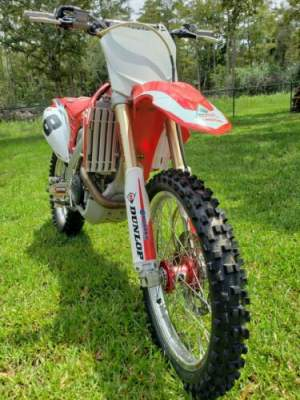 2009 Honda CRF450R Red for sale craigslist