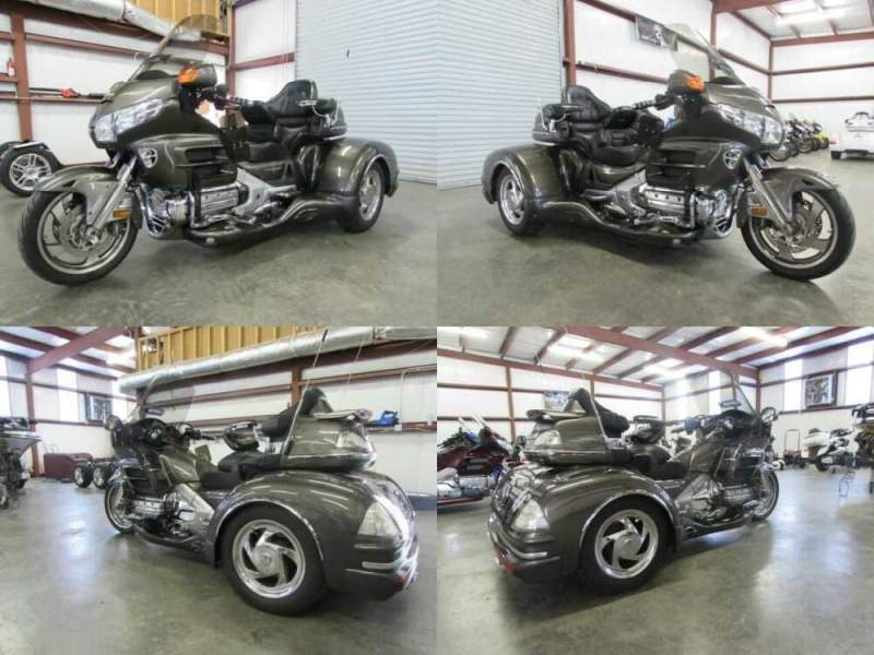 2009 Honda Gold Wing SILVER for sale craigslist photo