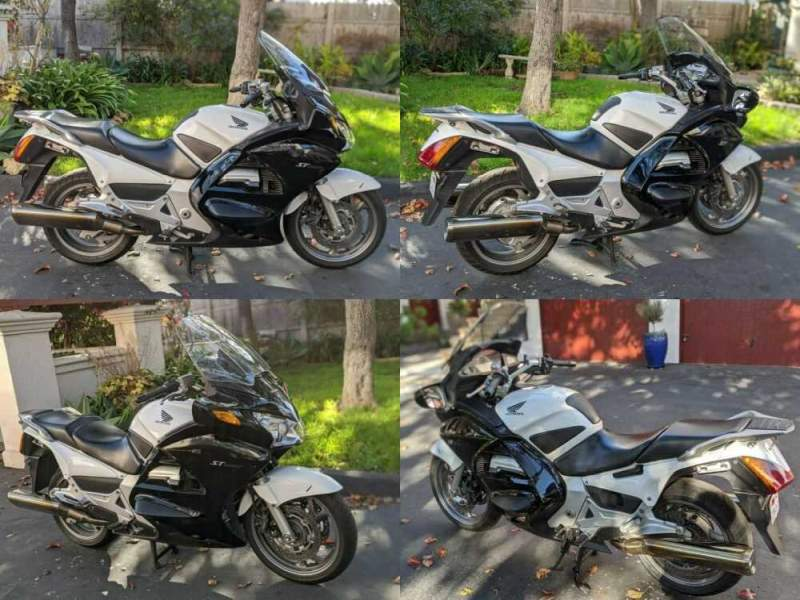 2009 Honda ST1300 White for sale craigslist photo
