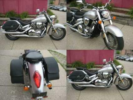 2009 Honda VTX silver for sale