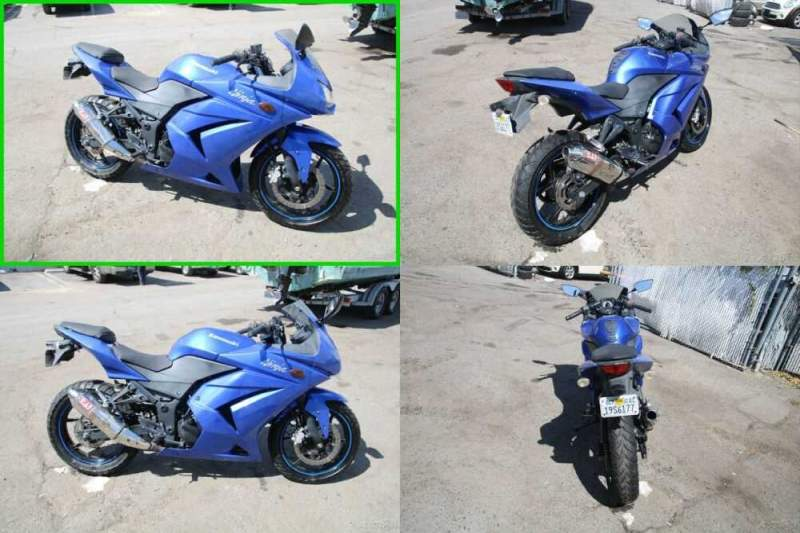 2009 Kawasaki Ninja 250R Blue for sale craigslist photo