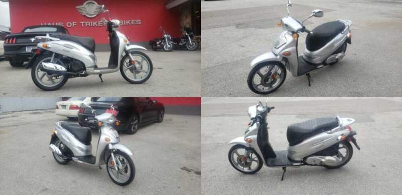 2009 Kymco People 150 Silver for sale craigslist photo
