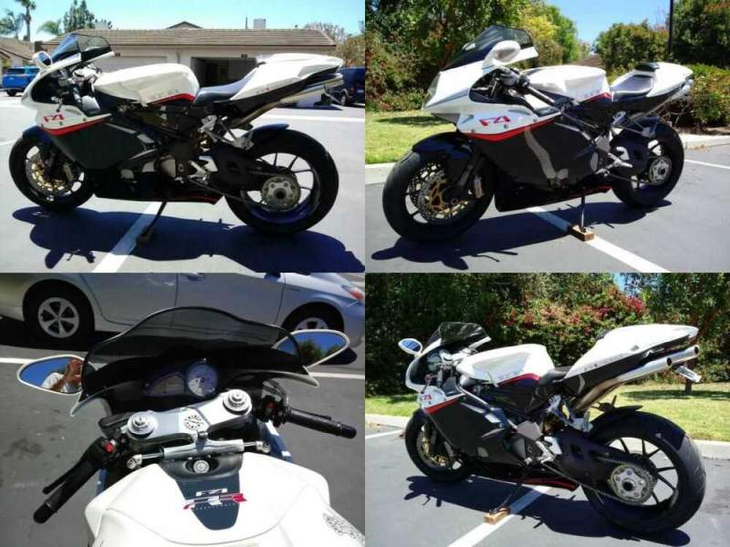 2009 MV Agusta F4 1078 312RR 1+1  for sale craigslist photo