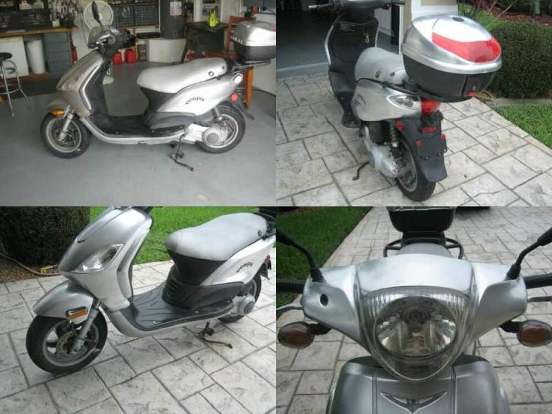 2009 Other Makes Piaggio Fly 150cc Vespa Silver for sale craigslist photo