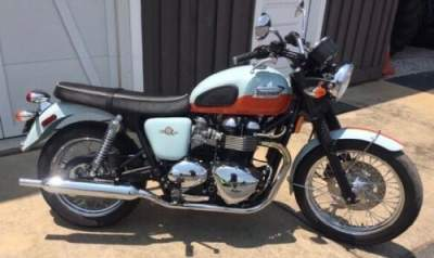 2009 Triumph Bonneville Blue/orange for sale craigslist