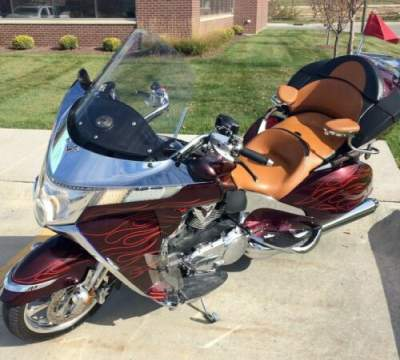 2009 Victory Vision Premium Tour Burgundy for sale craigslist photo