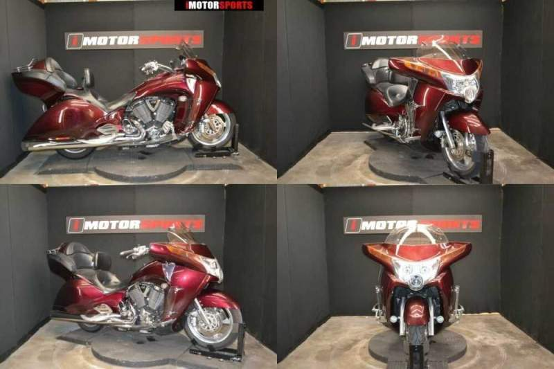 2009 Victory Vision Tour Burgundy for sale