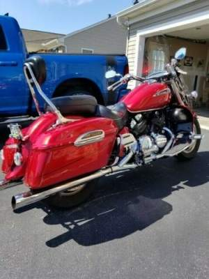 2009 Yamaha Royal Star Red for sale craigslist photo