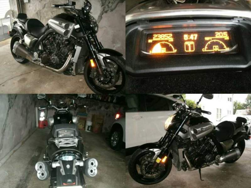 2009 Yamaha V Max Black for sale