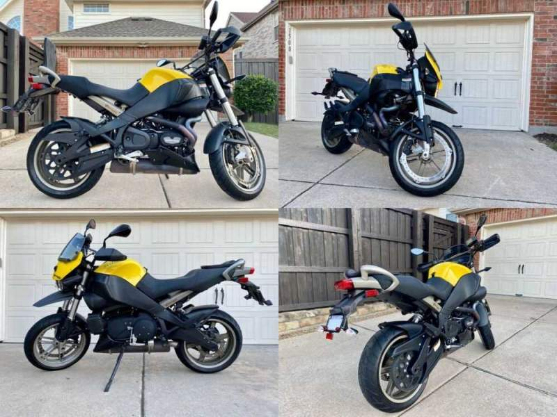 2010 Buell Ulysses Black and Yellow for sale