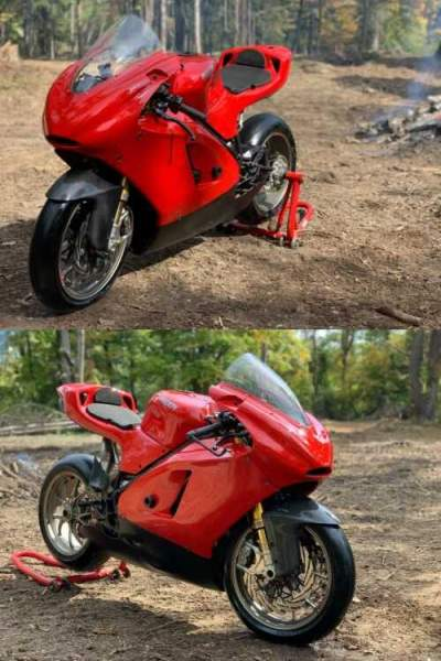 2010 Ducati Superbike Red for sale craigslist photo