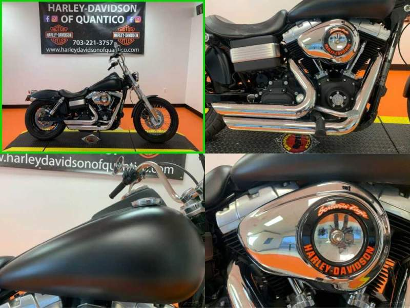 2010 Harley-Davidson Dyna Dyna Street Bob Black Ice Denim for sale