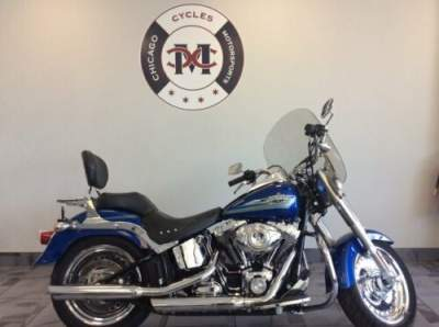 2010 Harley-Davidson FLSTF FAT BOY Blue for sale craigslist