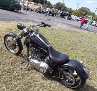 2010 Harley-Davidson Softail Black for sale craigslist photo