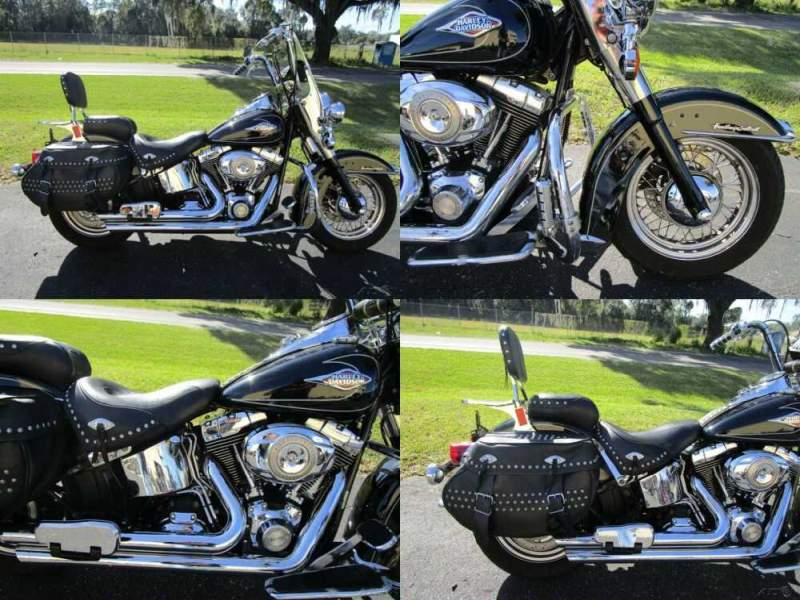 2010 Harley-Davidson Softail Heritage Softail® Classic Black for sale craigslist